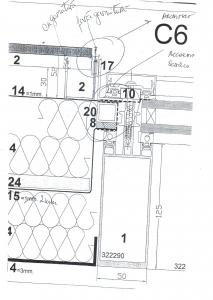 plan zona opaca vitrata